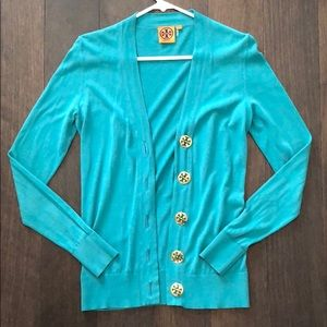 Tory Burch button front cardigan